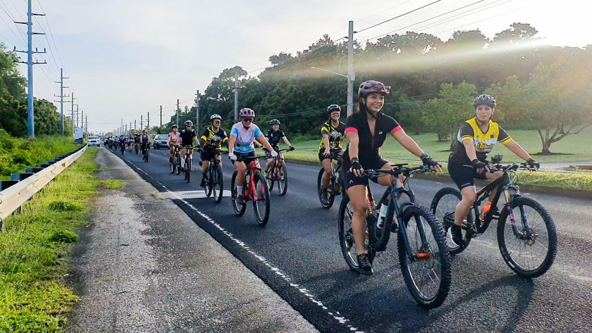 Women on Wheels ride for Mother's Day