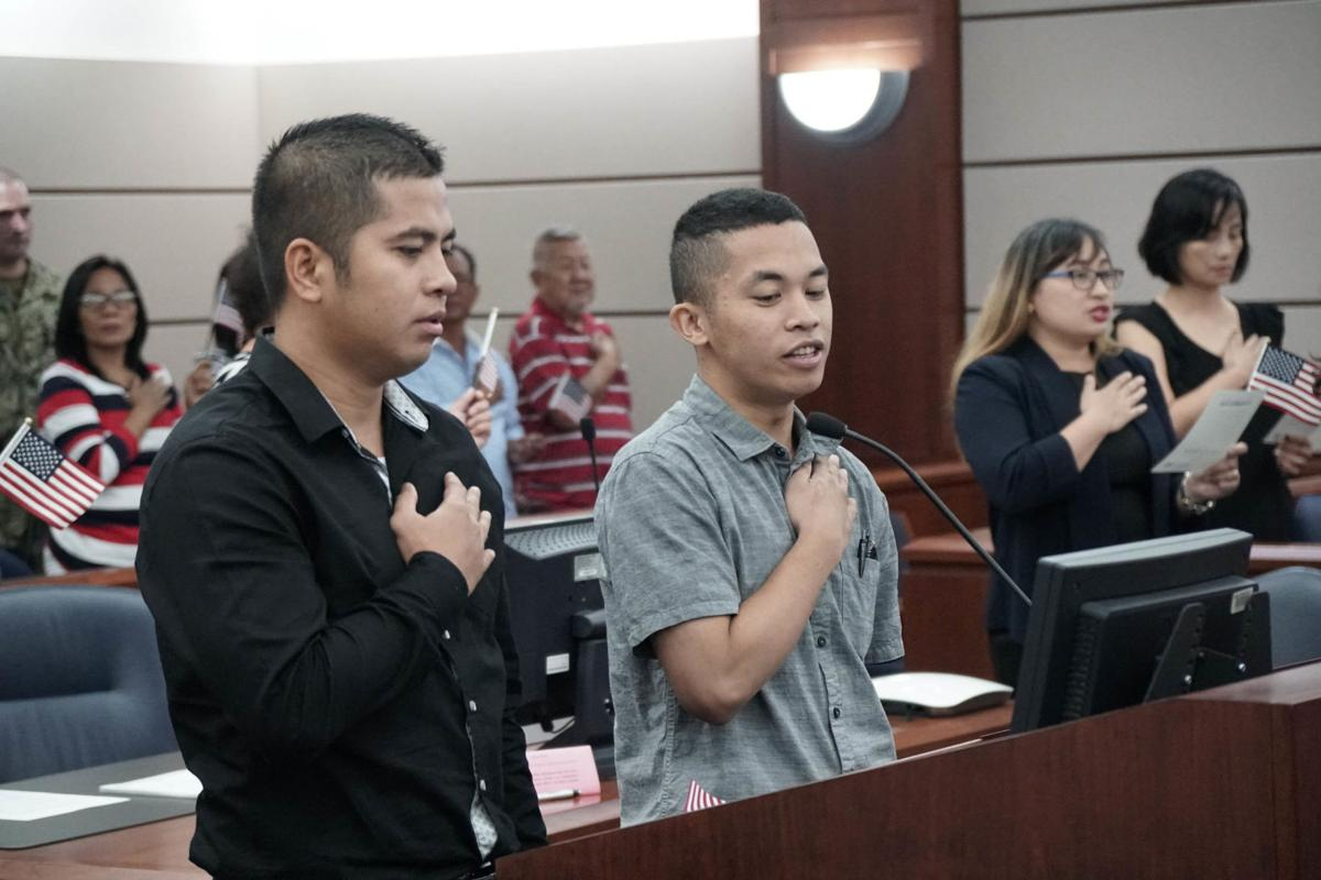 Judiciary holds naturalization ceremony
