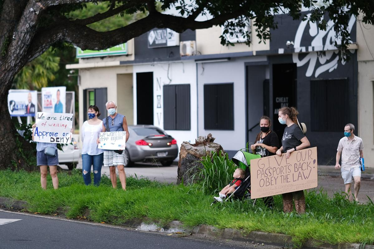 Asylum-seekers say wait is taking a toll