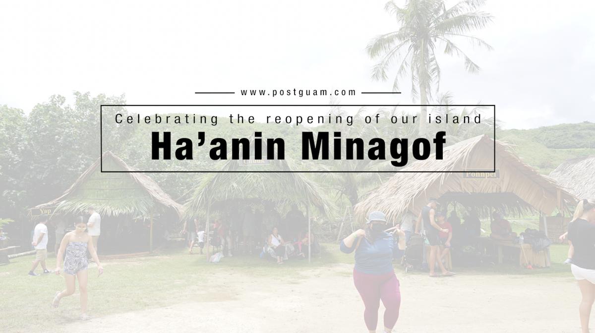 Ha'anin Minagof celebrates Guam, Micronesia cultures