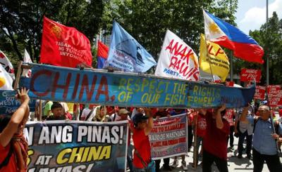 Guam Filipinos to join protest against China