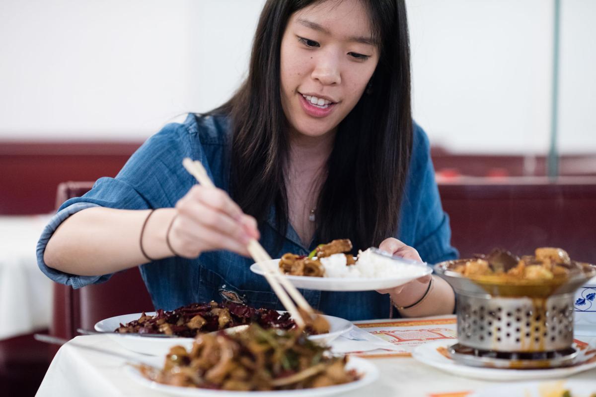 Chinese cuisine sets the scene for novel