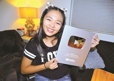 Saipan eighth grader recognized for 6-digit YouTube milestone