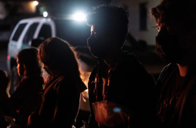 Thousands of children stuck in US border patrol custody