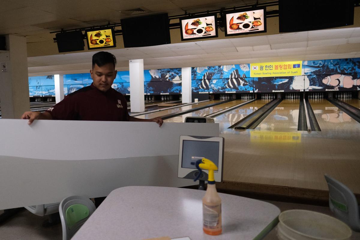 Tamuning bowling center reopens today