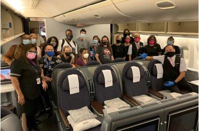 United gives COVID-19 medical volunteers free ride to Guam