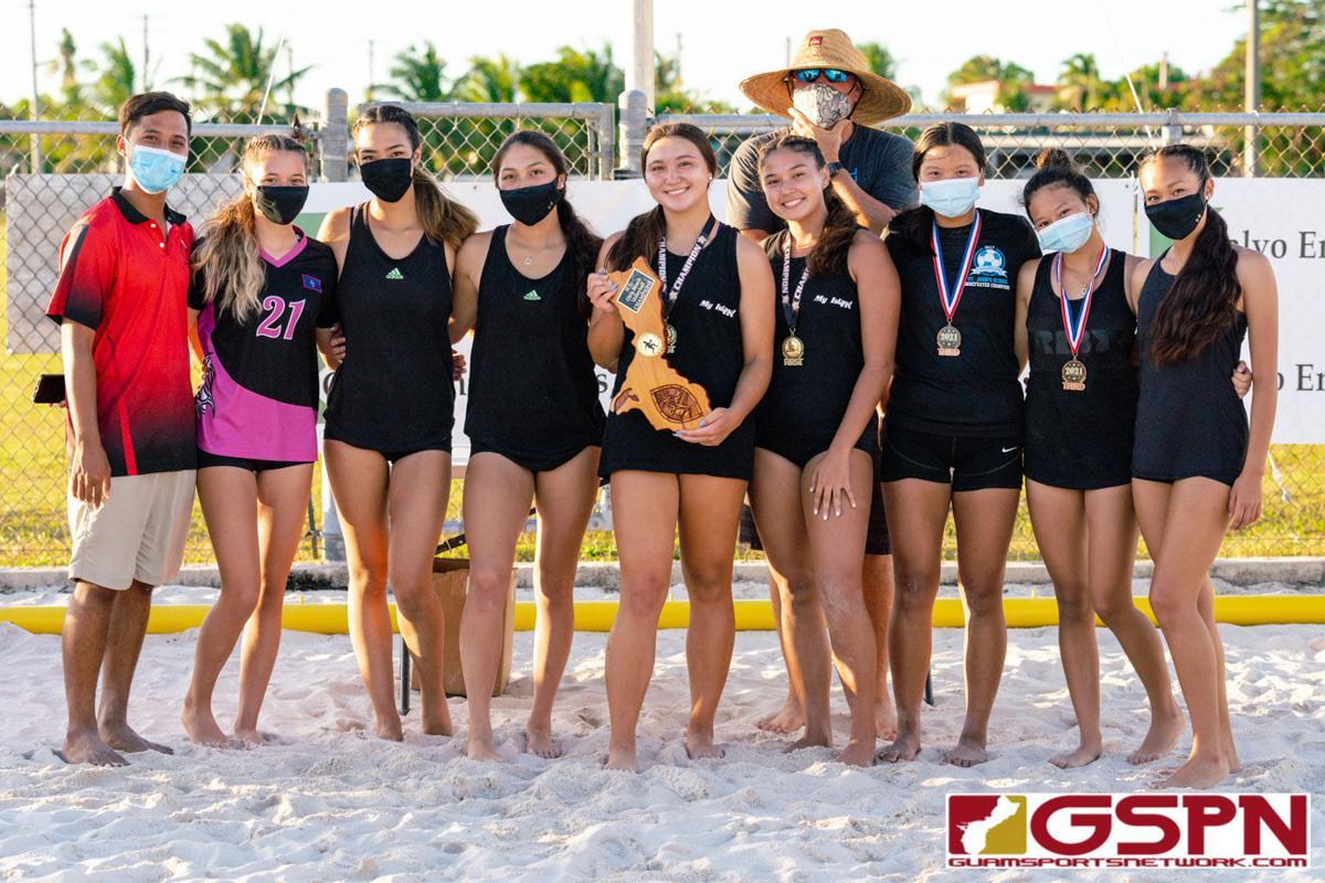 Mendiola and Shepherd win IIAAG beach volleyball championship