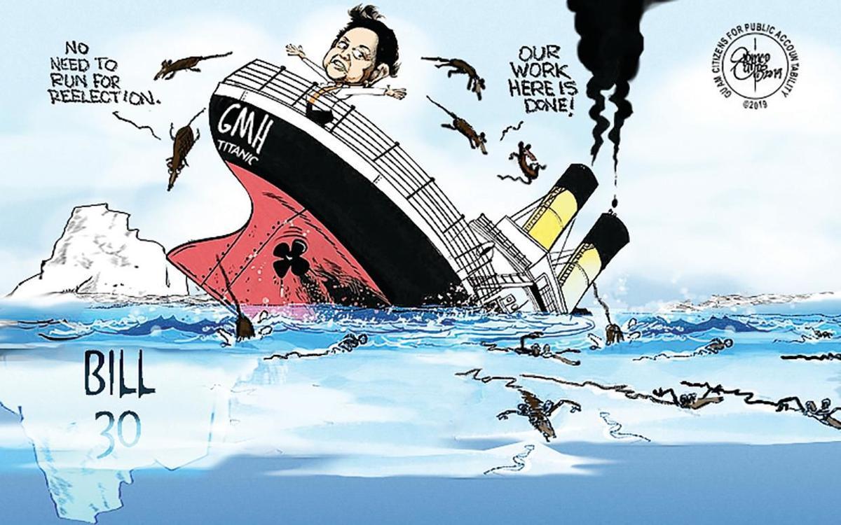 That sinking feeling on Guam Memorial Hospital
