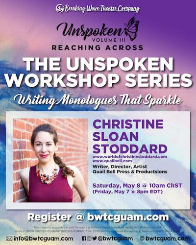 community news Unspoken Workshop Series: Writing Monologues that sparkle