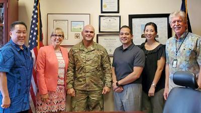 VA officials discuss health care for CNMI veterans