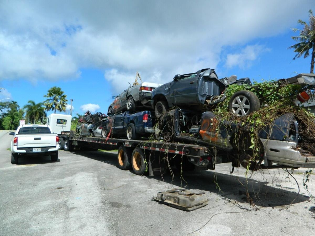 Agana Heights mayor: Resident can file claim with AG's office about 'smashed' vehicle