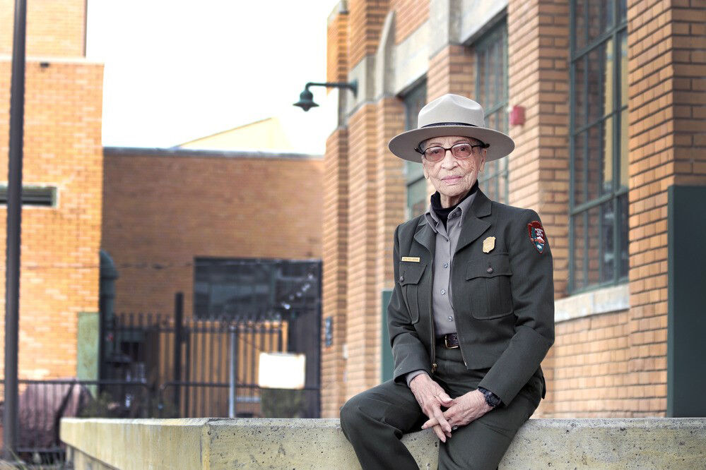 Oldest park ranger, 100, continues to tell her story