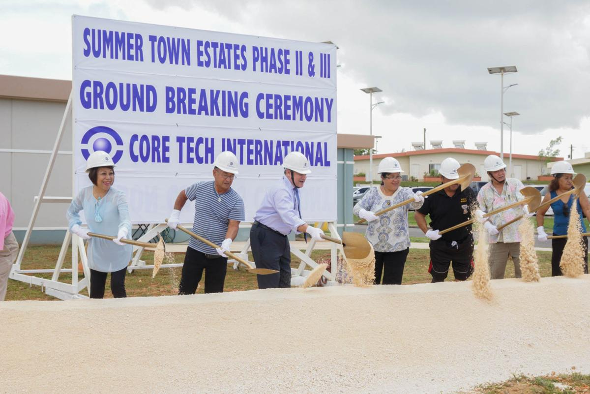 GHURA breaks ground on final phase of 399 unit housing project 1