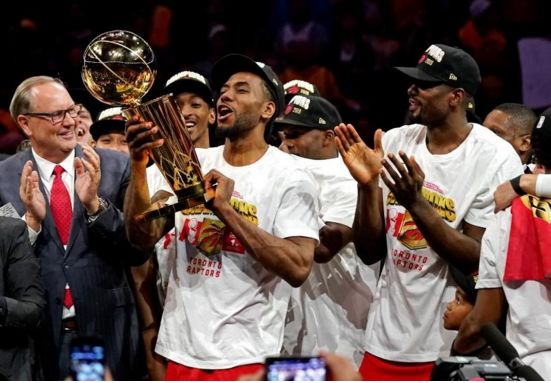 Toronto Raptors claim first NBA title for Canada