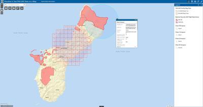 Report: Possible drone intrusion near Guam's missile defense site