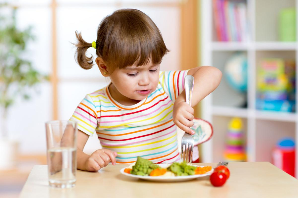 Want your kids to eat quinoa or lentils? Tell them how healthy foods will help them grow