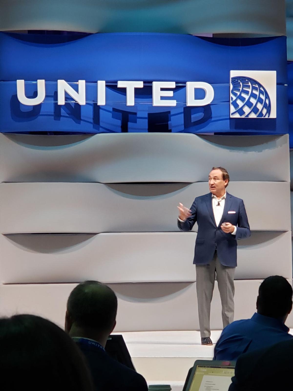 United outlines Flight Plan 2020