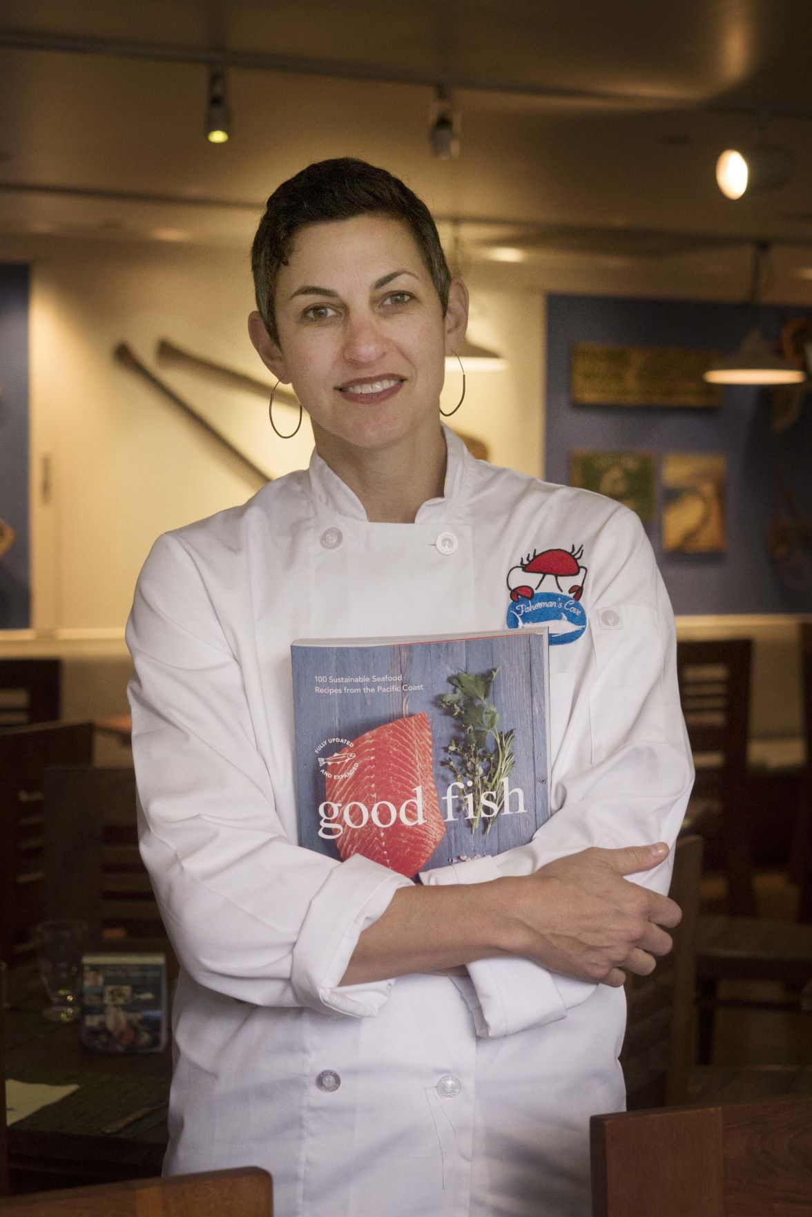 Visiting Seattle chef highlights sustainable seafood
