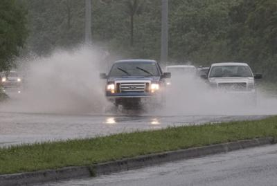 GPD: Route 1 at Polaris flooded; drivers should seek other routes