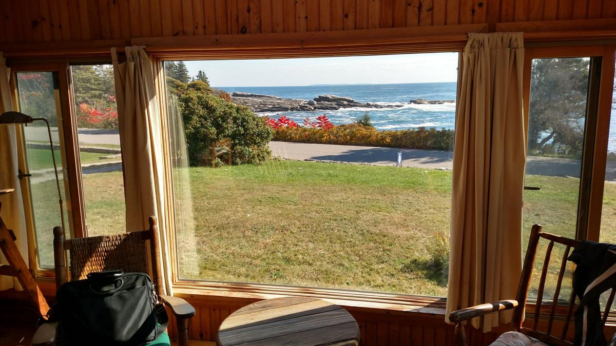 In coastal Maine, the perfect pace for self-quarantining