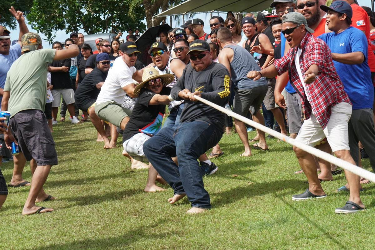 Guam contractors, workers hold picnic