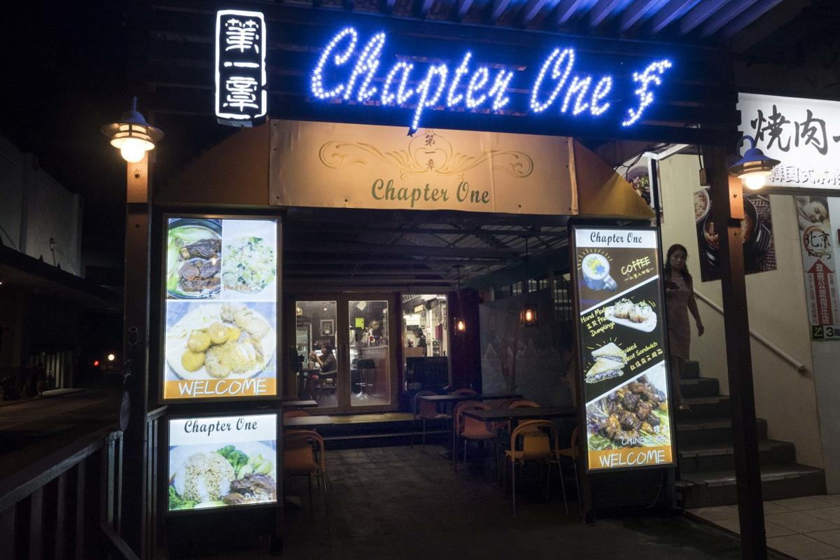 Chinese home cooking at Chapter One