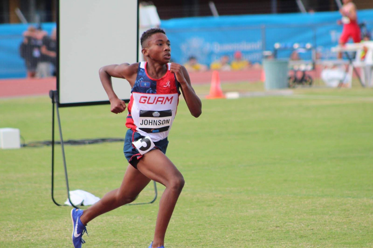 The future is bright for cross-country star Terrance Johnson