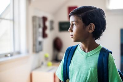 Easing the middle school transition  *FOR USE WITH THIS STORY ONLY*