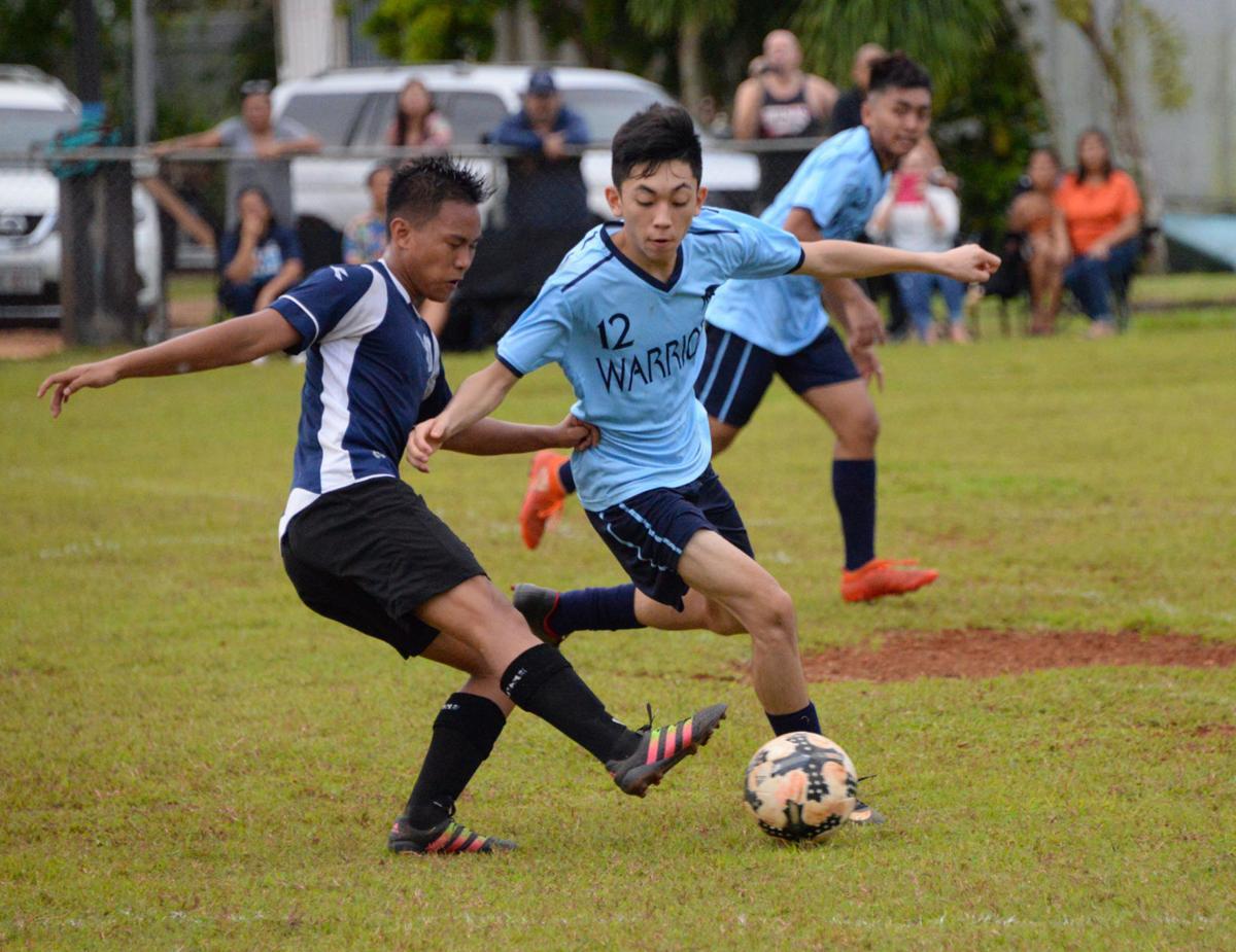 Saint Paul undefeated in boys soccer   Guam Sports   postguam com