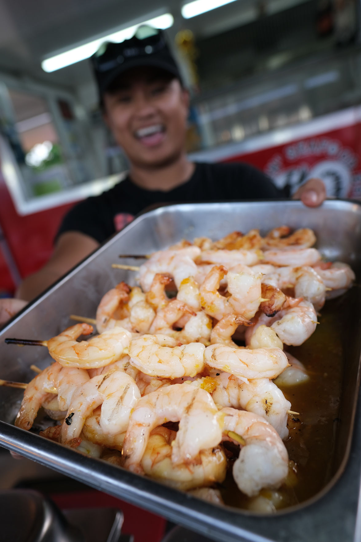 A summertime carnival food daze in Hagåtña