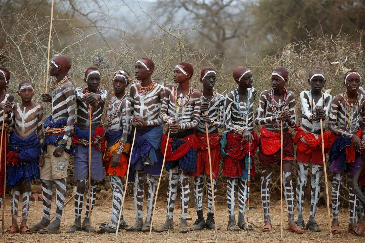 Kenya's Maasai mark rite of passage | Lifestyle | postguam.com