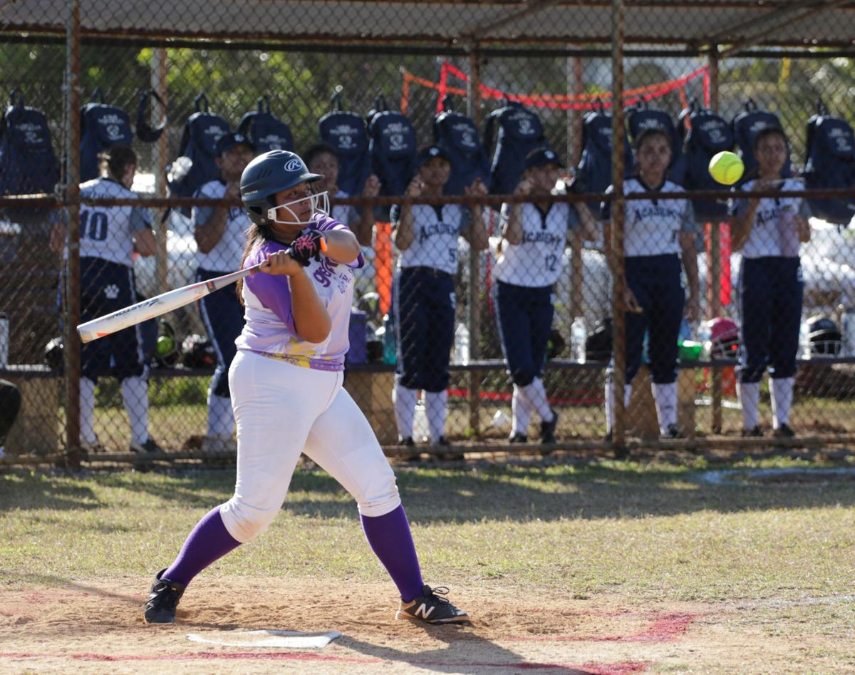 Geckos powerful in ISA playoff 17-3 softball win over Cougars