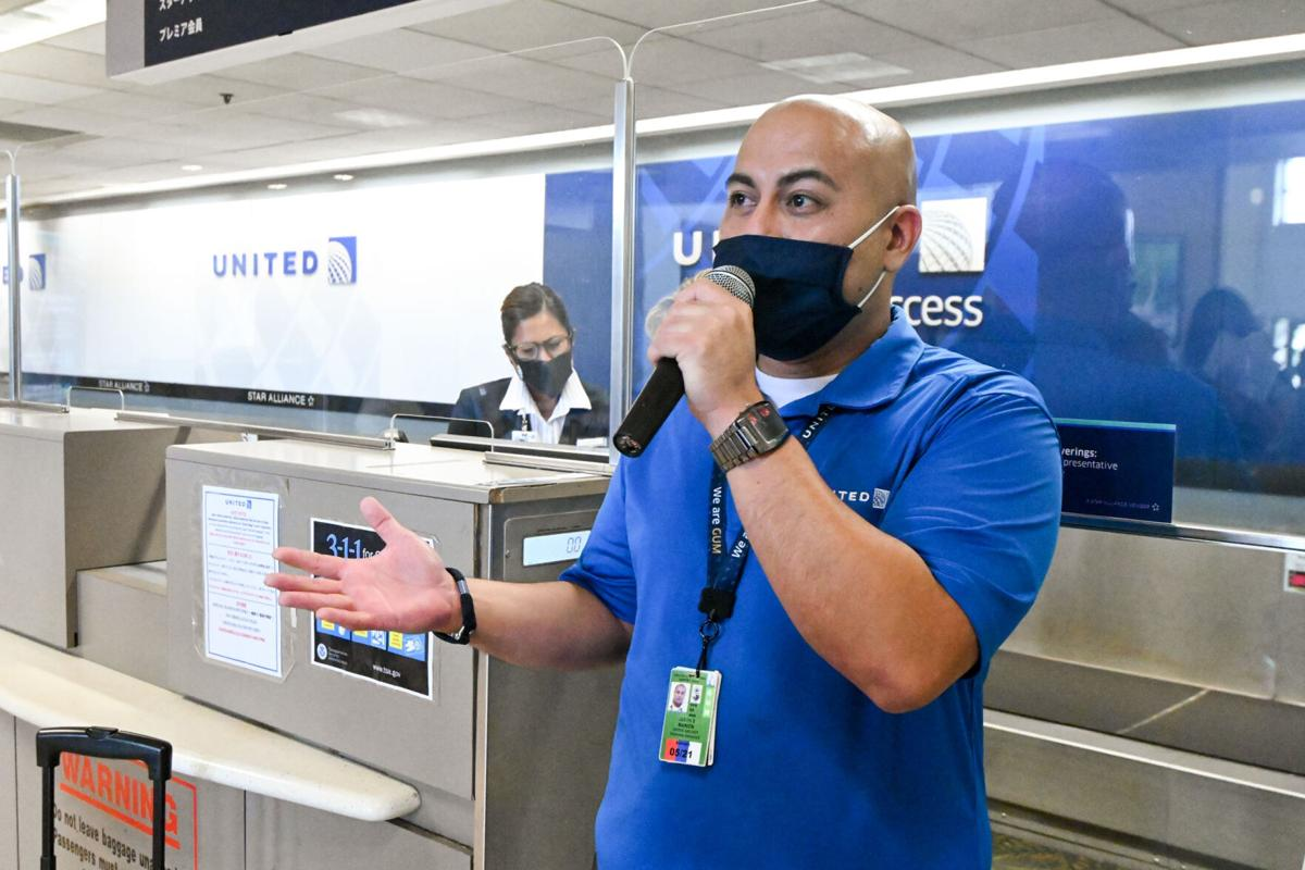United to fly 37% of overall flight schedule