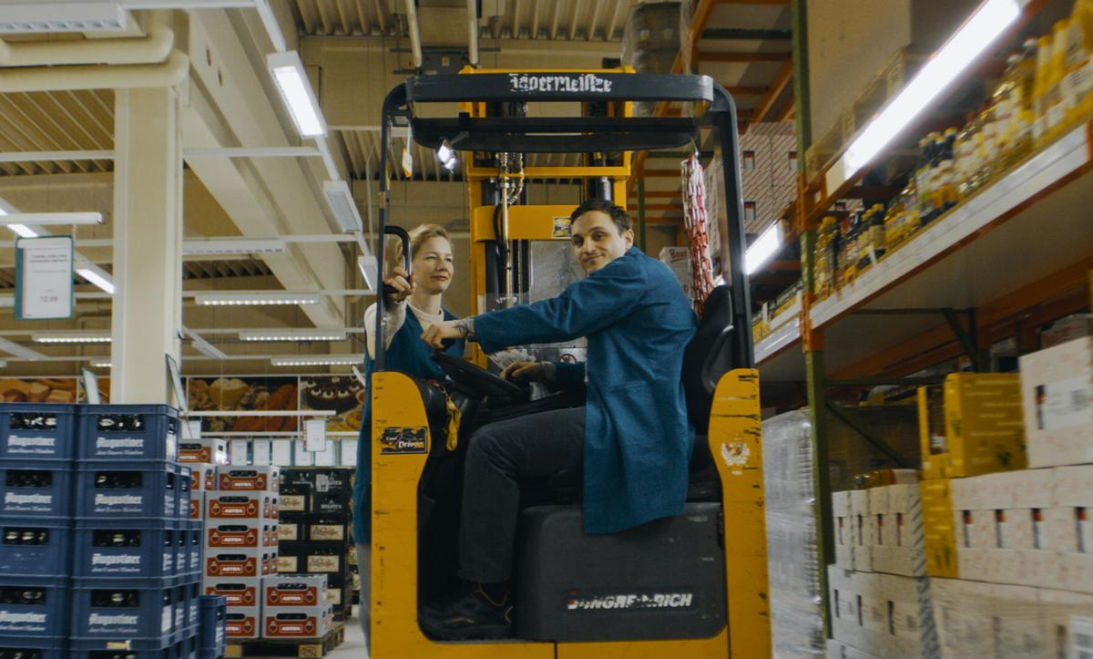 Love blossoms in the aisles of a big-box store in German drama