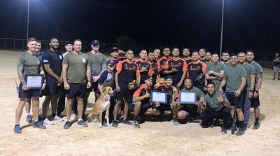 Guam soldiers win softball tournament