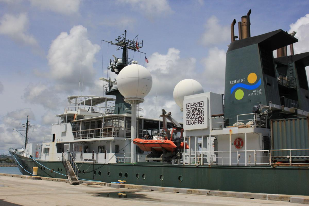 Research ship to test unmanned underwater vehicle
