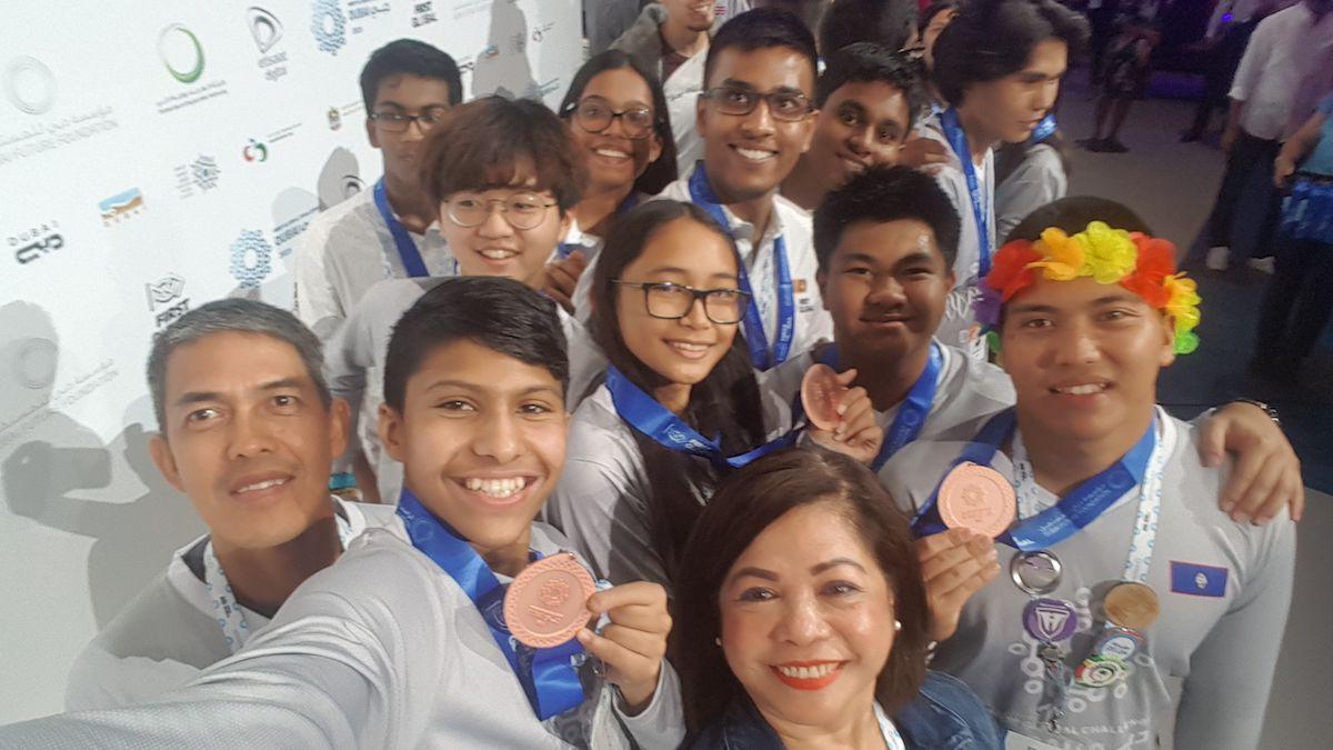 Guam teens take 3rd at World 2019 FIRST Global Challenge