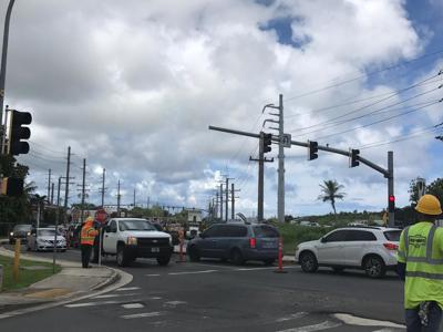 Repairs at Barrigada tri-intersection started