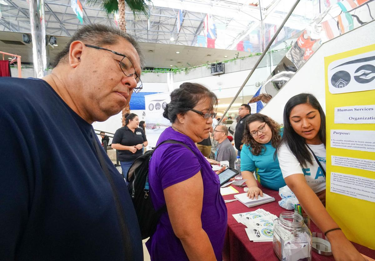 GCC shows off programs at fair