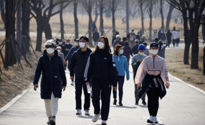 South Korea extends coronavirus distancing curbs as daily case count hits month high