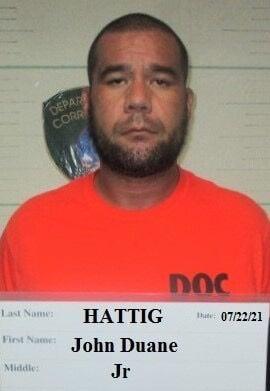 GPD arrests John Duane Hattig, Jr. on allegations of drug possession and firearms violations