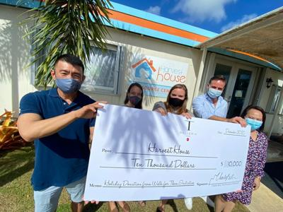 DFS Group's global employee initiative raises $180K; $10K goes to Guam nonprofit