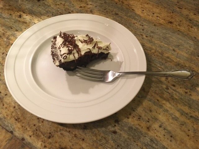 Indulge in the richness of Mississippi Mud Pie