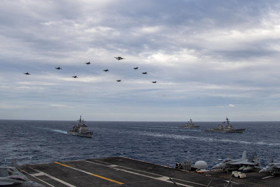 3 carrier sailors flown to Guam after testing COVID-19 positive