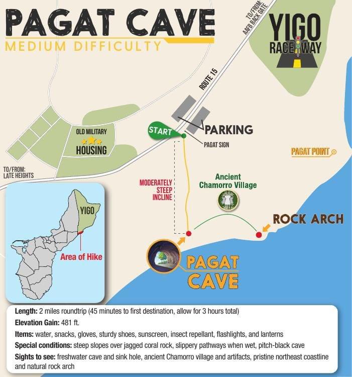 Pågat Cave hike