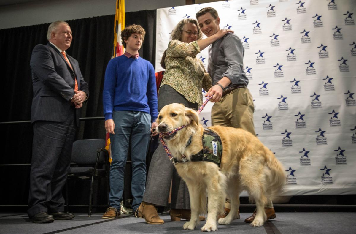 Dog therapy for veterans injured in mind and body