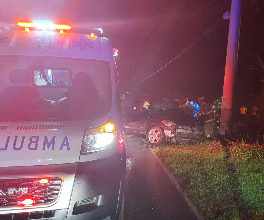 Driver in Yigo crash dies