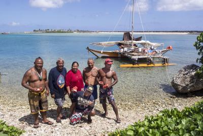 Sakman voyagers make history