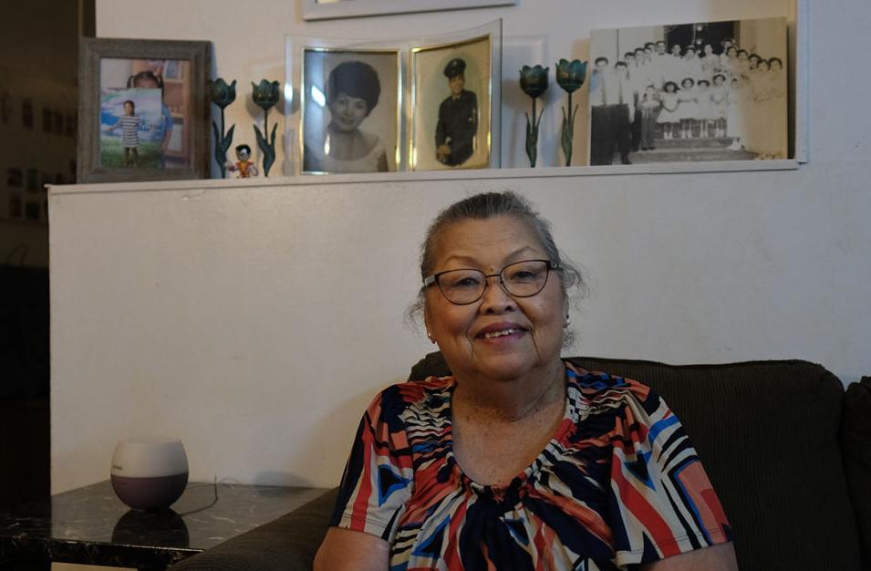 War memories: Rosita Perez