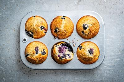 3-ingredient blueberry muffins from TikTok's favorite grandma are a true delight